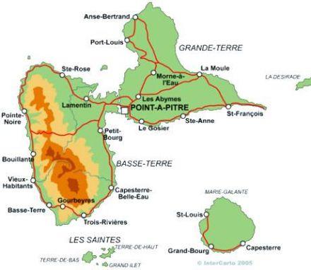 À la carte   Guadeloupe   informations touristiques pour préparer
