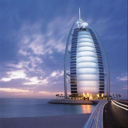Hotel 7 Etoile Dubai burj al arab, le seul hôtel 7 étoiles au monde sur passeport monde